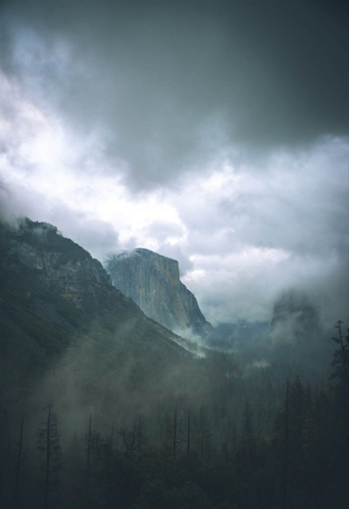 Bild på berg